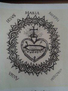La Dévotion au Sacré-Coeur de Jésus dans Prières-Dévotions coeur-de-jesus-par-sainte-marguerite-marie-225x300